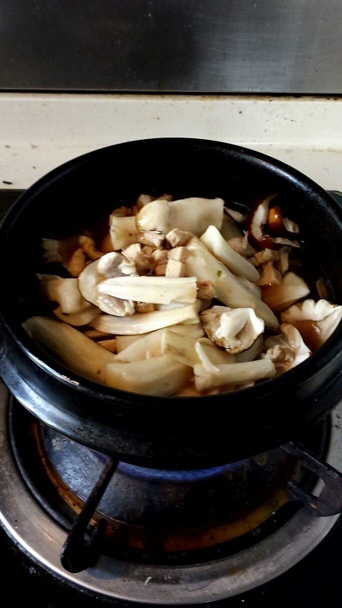 リアル中国産松茸で松茸ご飯を作る 参考画像