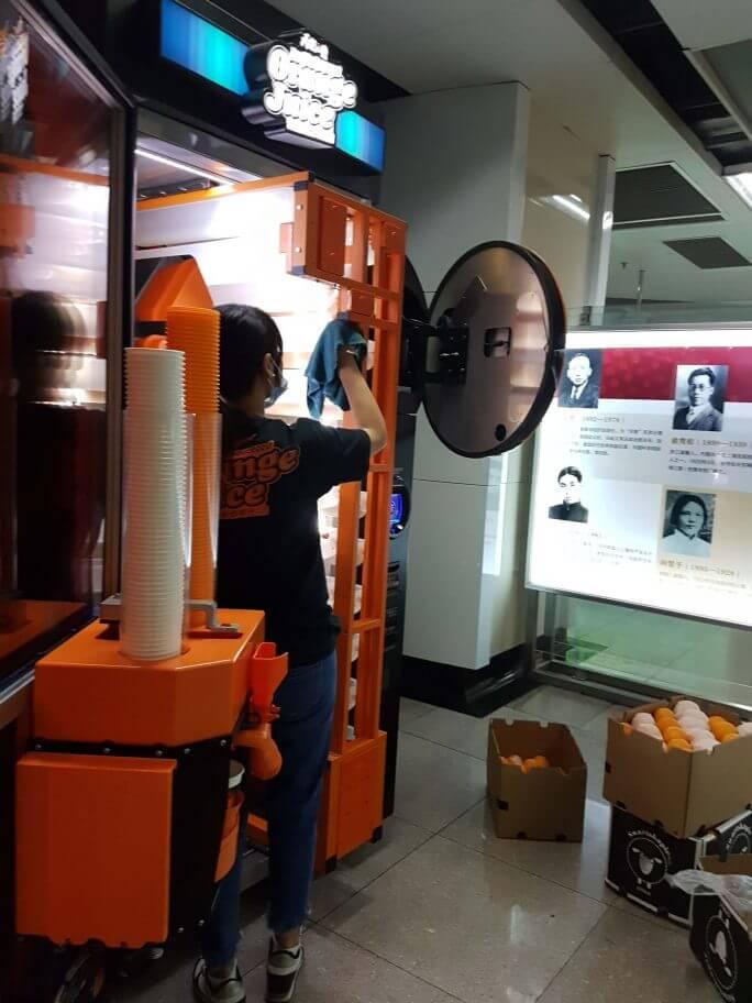 Vingoojuiceは面白い自販機! 参考画像