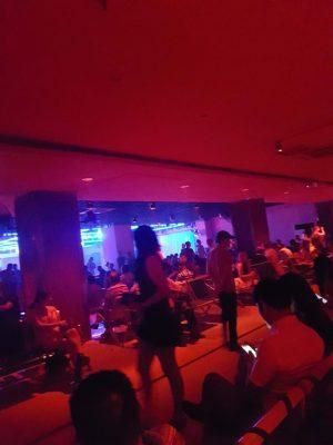 蘇州、星江舞厅の内部の様子