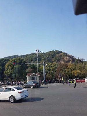 蘇州観光地灵岩山