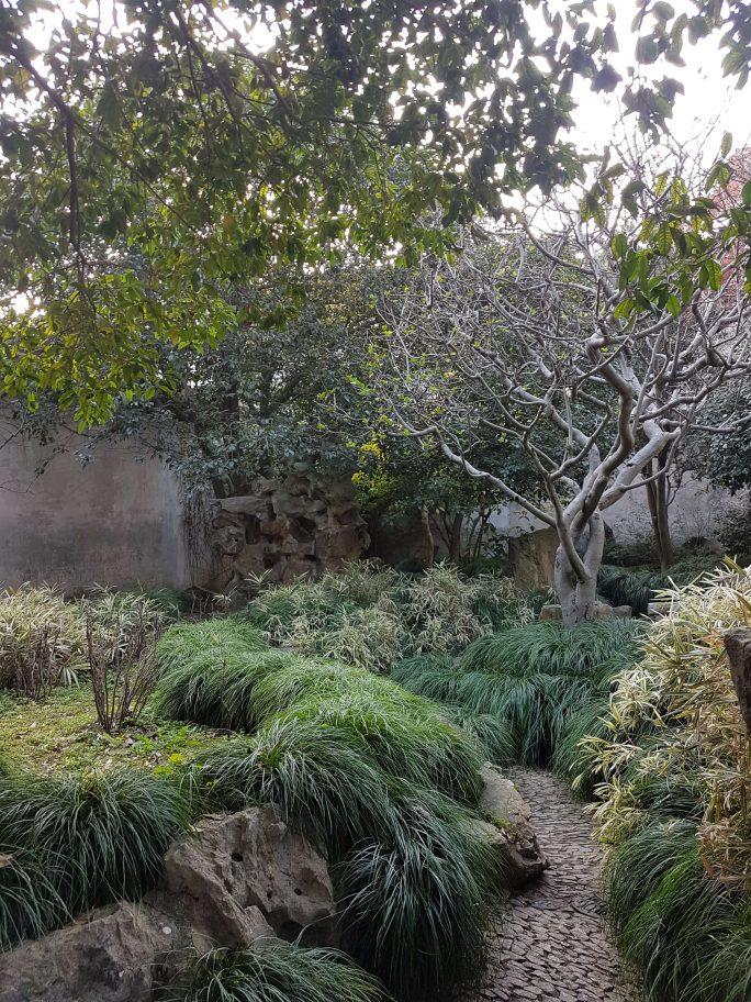 蘇州観光地「留園」写真 参考画像