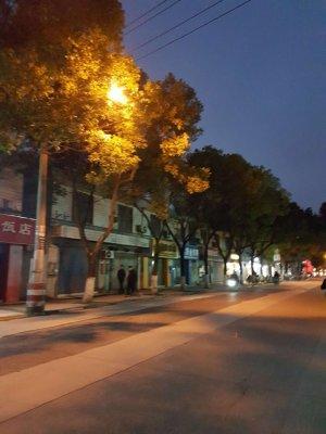 上海郊外九亭大街